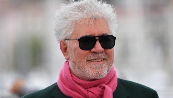 """Pedro Almodóvar consiguió ser finalista en los Oscar 2021 por su corto """"The Human Voice"""". (Foto: AFP)"""