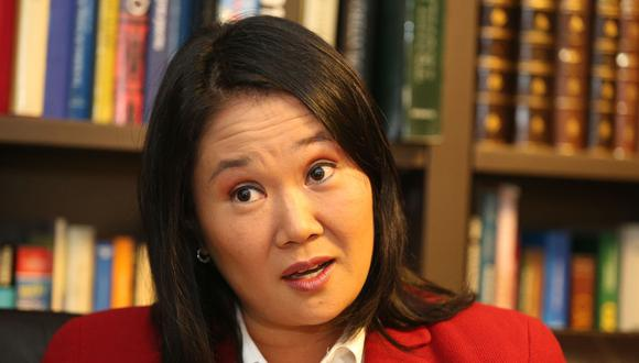 """Keiko Fujimori resaltó que la actual Constitución """"permitió consolidar la paz y rescatar a millones de peruanos de la pobreza"""".  (Foto: GEC)"""
