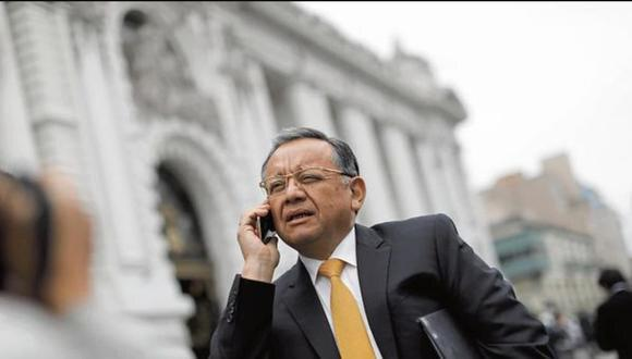 Edgar Alarcón fue involucrado en el supuesto pago de sobornos cuando era contralor general de la República. (Foto: GEC)