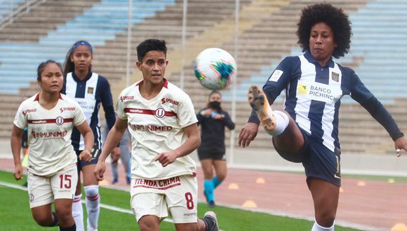 Alianza Lima empató 0-0 con Universitario en el primer clásico del año del fútbol femenino.