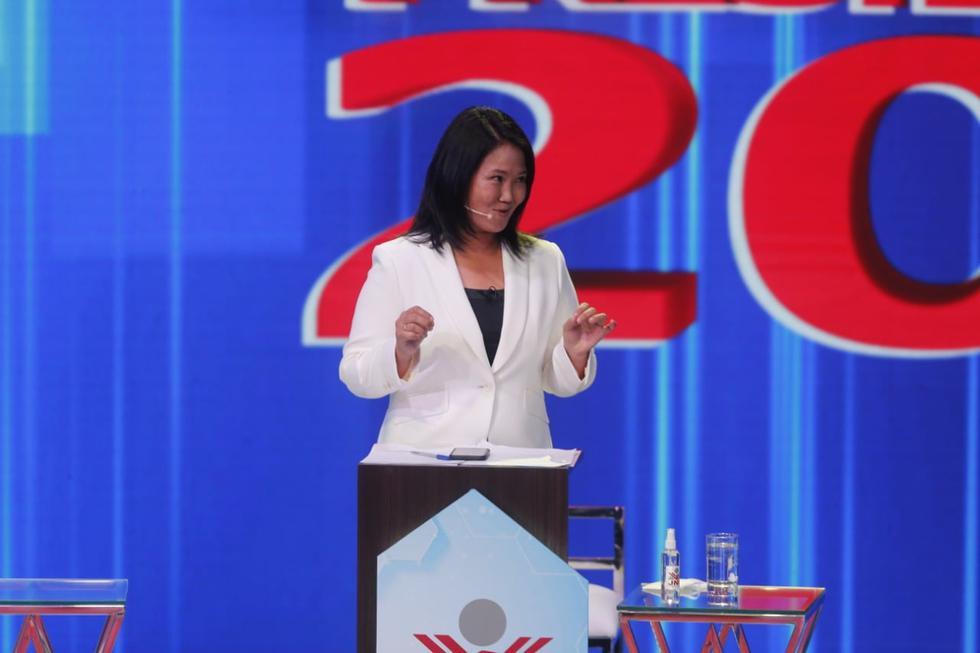 Keiko Fujimori repuntó en la preferencia electoral según IEP.