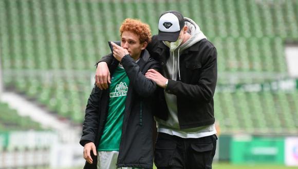 Werder Bremen, ex club de Claudio Pizarro, descendió a la segunda de Alemania. (Foto: AFP)