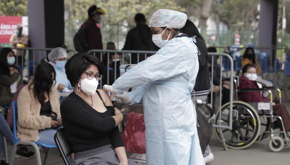 La vacunación contra el coronavirus continúa avanzando a nivel nacional. (Foto: @photo.gec)