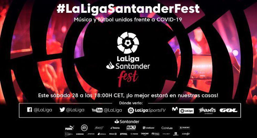 Vuelve LaLiga Fest en vivo y será trasmitido a nivel mundial