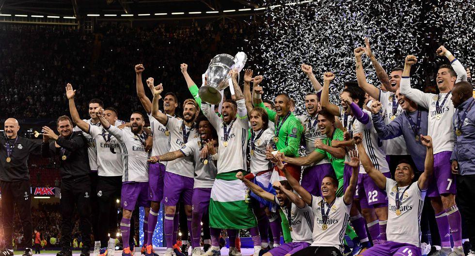 Real Madrid campeón de la Champions League 2017: así celebró el título tras vencer a Juventus en la final.