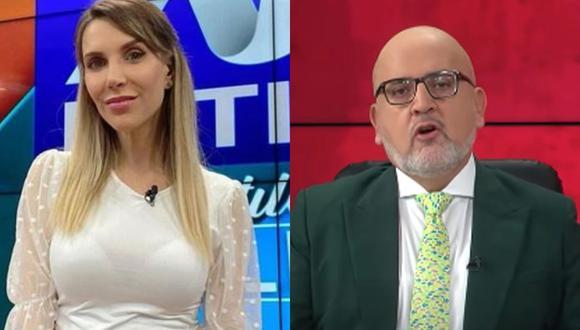 La periodista de ATV se refirió a Beto Ortiz y descartó tener gusto por Pedro Castillo y todo el tema político de Perú Libre.