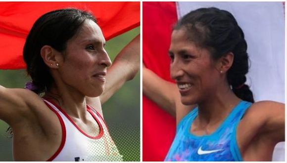 Gladys Tejeda y Jovana De la Cruz acabaron en los puestos 27 y 40, respectivamente. (Foto: IPD)