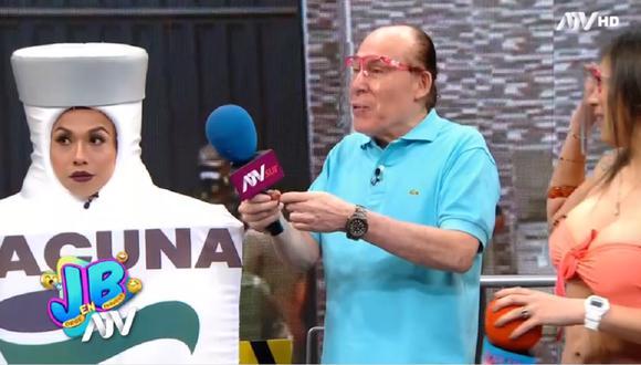"""""""JB en ATV"""" se estrenó en la noche del sábado 13 de febrero y contó con la participación de 'Yuca'. (Foto: Captura ATV)"""