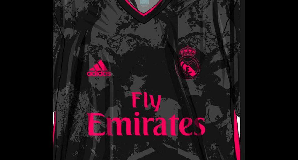 La tercera indumentaria del Real Madrid. (Foto: Footyheadlines)