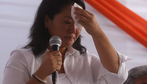 Keiko Fujimori se refirió a la denuncia de su madre, Susana Higuchi, de que fue torturada en el SIN. (Foto: Yodashira Pérez Tarazona / GEC)