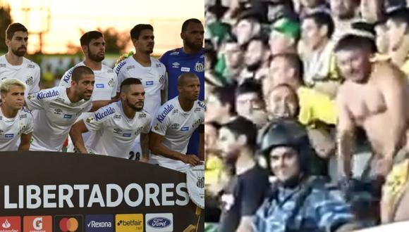 Santos denunciará ante la CONMEBOL actos racistas en el duelo ante Defensa y Justicia por Copa Libertadores