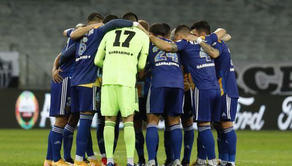 Boca Juniors fue eliminado de la Copa Libertadores a manos de Atlético Mineiro en octavos de final. (Foto: AFP)