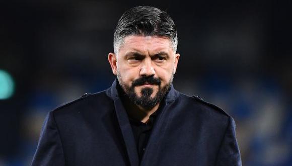 Gennaro Gattuso resaltó la importancia de Maradona en la ciudad de Napoli. (Foto: AFP)