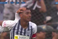 Alianza Lima vs. Sporting Cristal: Aldair Fuentes anota de cabeza en el último minuto y hace estallar todo Matute | VIDEO