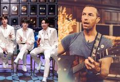"""BTS interpretó """"Fix you"""" de Coldplay en MTV Unplugged"""