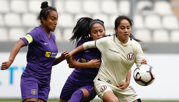Universitario venció a Alianza Lima y es el ganador de la Zona Lima en el Campeonato Nacional de Fútbol Femenino