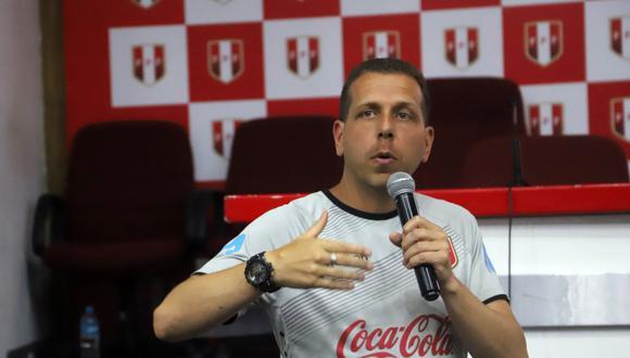 Adrián Vaccarini llegó a la selección peruana en el 2015 (Foto: Internet)