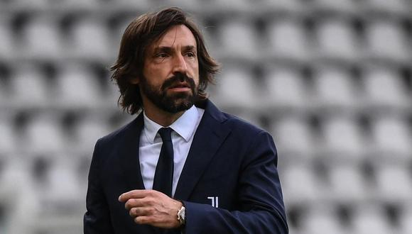 Juventus despidió a Andrea Pirlo. (Foto: AFP)
