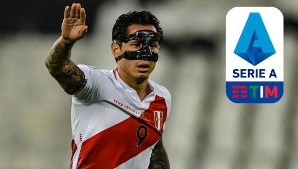 El delantero peruano ha despertado interés en algunos clubes del Calcio.