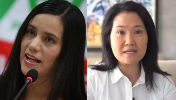 Verónica Mendoza se burló de Keiko Fujimori.
