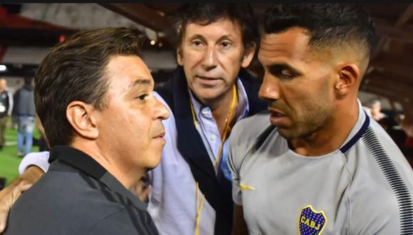 Carlos Tévez habla sobre futuro de Marcelo Gallardo en la Selección Argentina (Foto: Clarín)