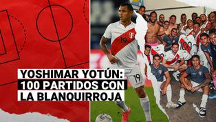 Selección peruana: Yoshimar Yotún y sus 100 partidos con la Blanquirroja