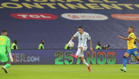 Di María marcó el gol para la victoria en la final de la Copa América. (Foto: Argentina)
