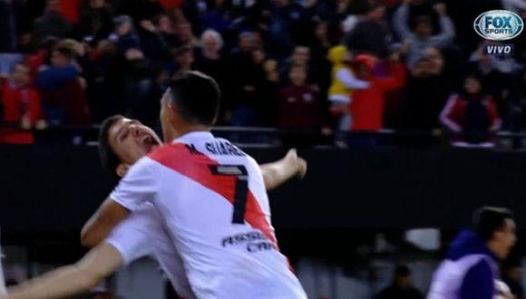 River Plate vs. Boca Juniors: El golazo de Nacho Fernández que hizo retumbar el Monumental   VIDEO