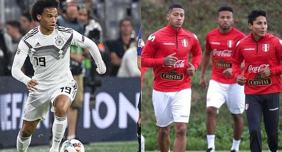 La razón por la que Leroy Sané no estará en el Perú vs Alemania