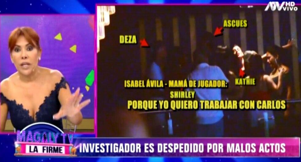 """La conductora de televisión indicó que no soportará con actos de corrupción dentro de """"Magaly TV, la firme"""".   (Foto: ATV)"""