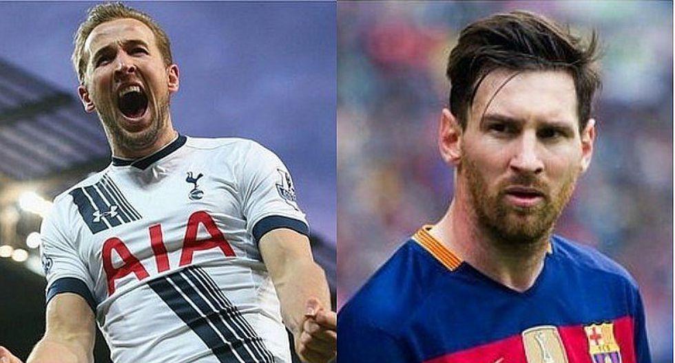 Lionel Messi: Harry Kane puede quitarle título de máximo goleador del 2017