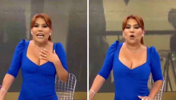 """Magaly Medina criticó el nuevo formato por el que ha apostado """"Esto es guerra"""". (Foto: Captura ATV)."""