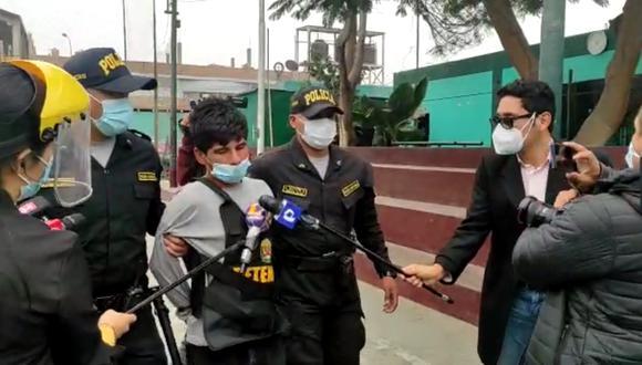El detenido Daniel Jaramillo Fernández (19) es sindicado como el cabecilla de la banda 'Los Babys de Collique'.