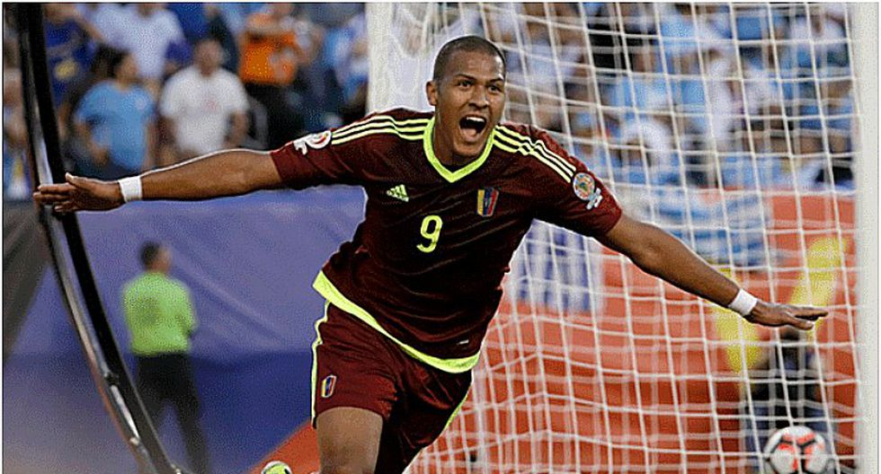 Selección peruana   Venezuela: Salomón Rondón caliente la previa con este mensaje a la bicolor