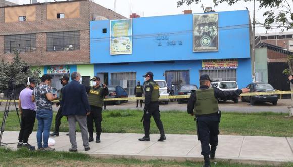 El ministro del Interior, Jorge Montoya, aseguró que la Policía le brindó información falsa sobre el allanamiento a la discoteca Thomas Restobar. (Gonzalo Córdova/GEC)