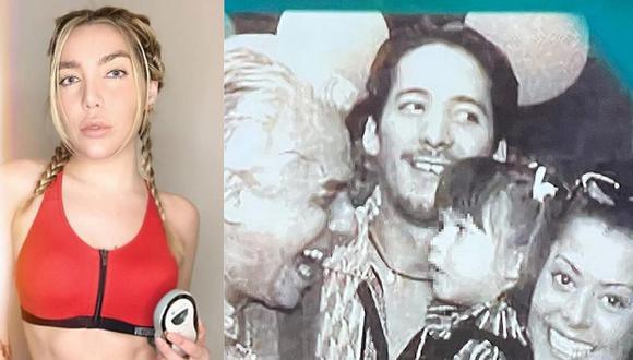 Frida Sofía genera controversia al publicar foto del pasado junto a su abuelo Enrique Guzmán. (Foto: @ifridag)