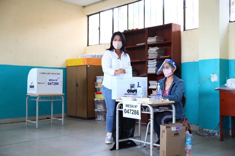 Keiko Fujimori: Elecciones 2021