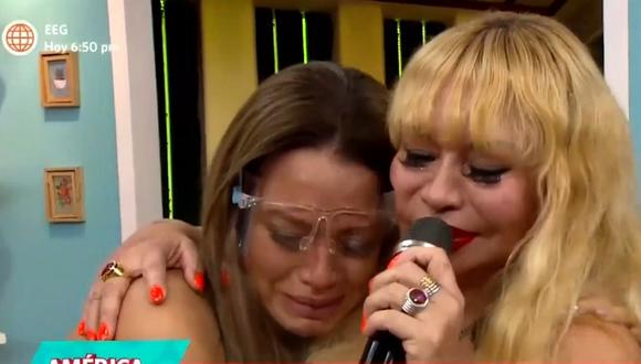 Susy Díaz sufre el fallecimiento de su hermano Alfredo por coronavirus.