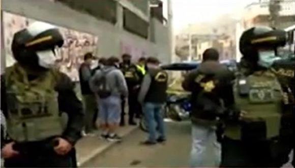 Policía Nacional brindará detalles de lo ocurrido en El Agustino donde un presunto delincuente fue abatido por un agente. (Captura: América Noticias)
