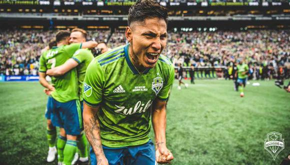 Raúl Ruidíaz en el once ideal de la semana en la MLS. (Foto: @soundersfc_es)
