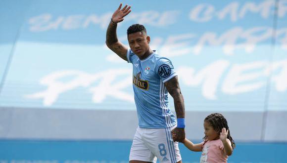 Ray Sandoval es jugador de Sporting Cristal desde inicios de año. (Foto: GEC)