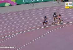 Youtube | Lima 2019: Canadiense sufrió dura caída en la prueba de 800 metros | VIDEO