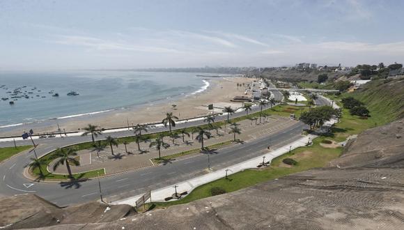 Las autopistas del Circuito de Playas serán cerradas debido a la alerta de tsunami por un terremoto de magnitud 8.1. (Foto: ANDINA/Renato Pajuelo)