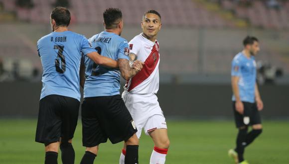 Perú recibió a Uruguay en el estadio Nacional en la jornada 9 de las Eliminatorias Qatar 2022 | Foto: GEC