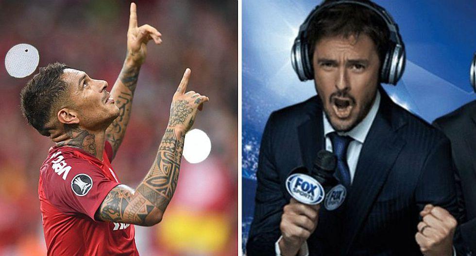 """Closs elogió nuevamente a Guerrero: """"Es el delantero más extraordinario de Sudamérica"""""""