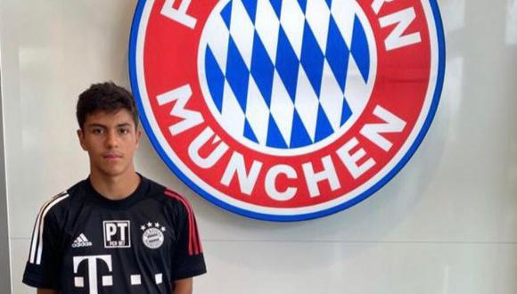 Matteo Pérez Winlöf, de padre peruano, pasa pruebas en la U-17 del Bayern Múnich.
