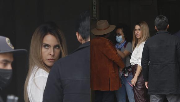 """Kate del Castillo se encuentra en Lima para grabar nuevas escenas de la serie """"La Reina del Sur 3″. (Foto: Jorge Cerdan/@photo.gec)."""