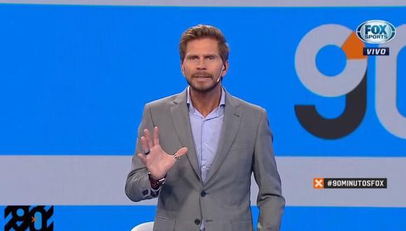 El 'Pollo' lidera 'Fox Sports Radio' y '90 minutos de Fútbol', dos exitosos programas, además de ser uno de los principales relatores argentinos de fútbol. (Foto: Captura Fox Sports)