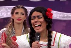 """""""La Pánfila"""" es eliminada en """"Reinas del Show"""" mientras que Jazmin Pinedo sigue en el reality   VIDEO"""