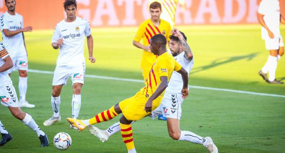 Dembélé y Griezmann anotaron para Barcelona en el inicio de la era Koeman | VIDEO